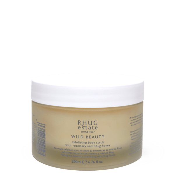 Exfoliating Body Scrub with Rosemary and Rhug Honey by Rhug Wild Beauty