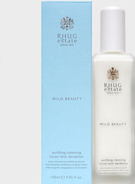 Purifying Cleansing Lotion with Dandelion by Rhug Wild Beauty